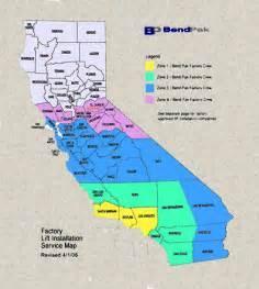 California Zip Code Map