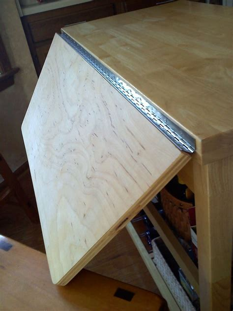 simple rolling kitchen island purchased  lowes add