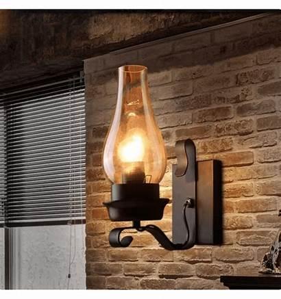 Wall Rustic Lamps Aurelia