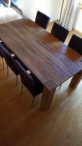 Esstisch Mit Stühlen Gebraucht : esstisch akazie massiv mit 6 st hlen kaufen auf ricardo ~ A.2002-acura-tl-radio.info Haus und Dekorationen