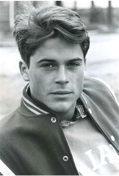 Rob Lowe When Young