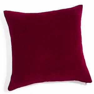 coussin velours With tapis rouge avec vente de coussin pour canapé