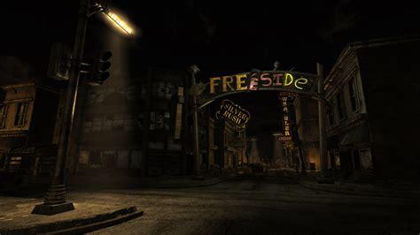 fallout sci fi city dark  wallpaper