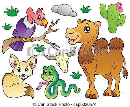 desert animals clipart clipart suggest