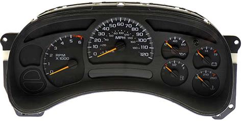 motor repair manual 2003 gmc safari instrument cluster 2003 2005 gm chevrolet silverado 3500 sierra 2500 hd sierra 3500 instrument cluster v8