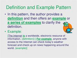ppt signal words patterns of organization powerpoint