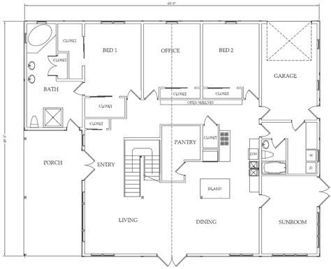 pole building house floor plans uncle howard s barn kits