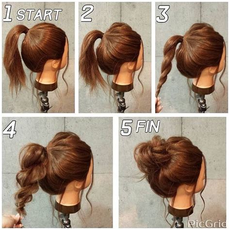 easy ways to put up long hair hairstyles 2019 ideas