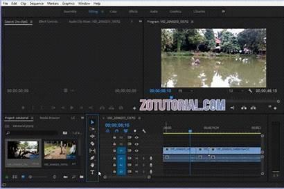 Tulisan Teks Adobe Premier Tutorial Cc Pemula