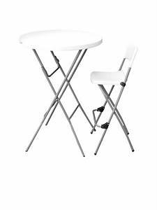 Table Et Chaise De Bar : mobilier et rangement tables et chaises pehd table de bar et chaise haute pehd ~ Dode.kayakingforconservation.com Idées de Décoration