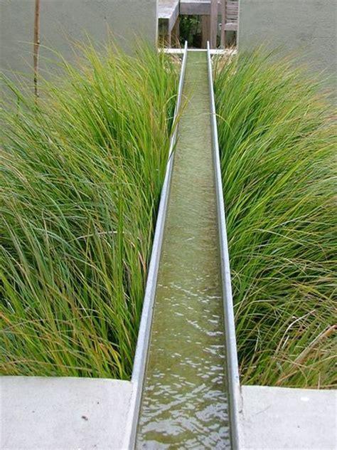 water rill design suspended rill gardens pinterest