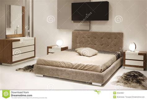 chambre photographie chambre à coucher moderne photographie stock libre de