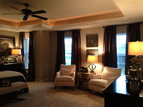 beautiful master bedroom tray ceiling home plans