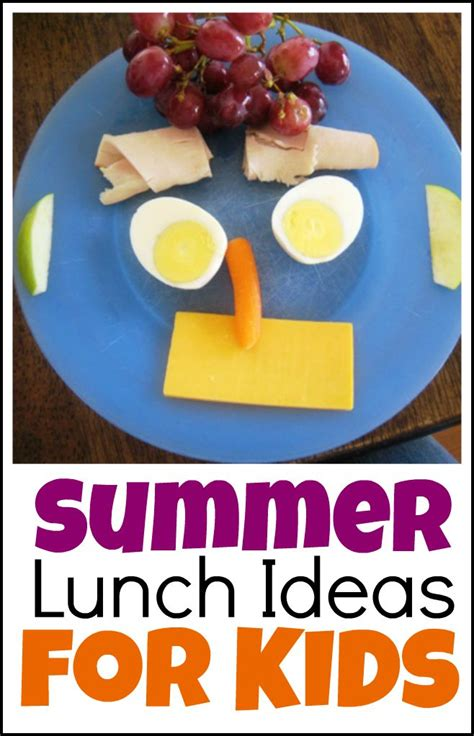 Summer Lunch Ideas That Are Easy On Parents  Life As Mom