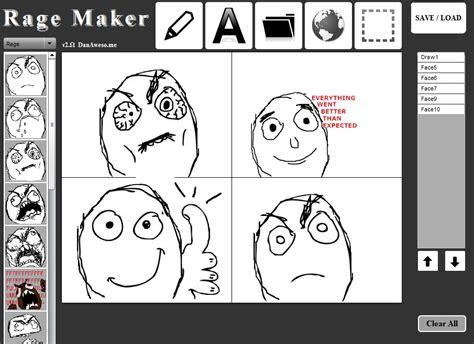 Meme Face Maker - rage maker