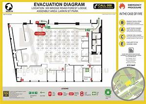 Emergency Evacuation Diagrams   Safety Graphics