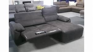 Couch Mit Elektrischer Relaxfunktion : ecksofa silverstone dunkelgrau elektrische loungefunktion ~ Indierocktalk.com Haus und Dekorationen