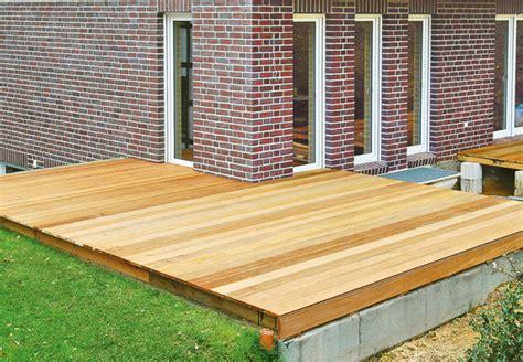 terrazza in legno terrazza con obi