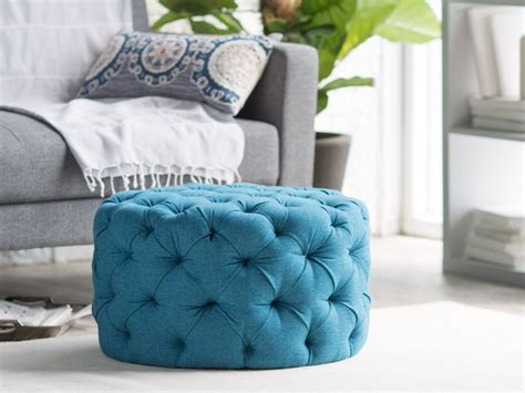 blue ottoman coffee table ottoman blue coffee table