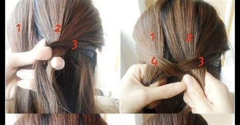 simple hair styles for casual fishbone tutorial hairstyles for hair 8133