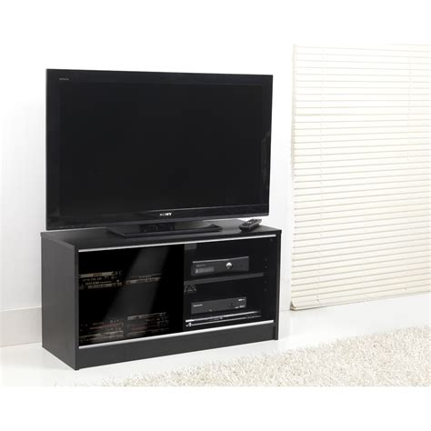 sliding door tv cabinet 0581 black single sliding door tv cabinet 90cm