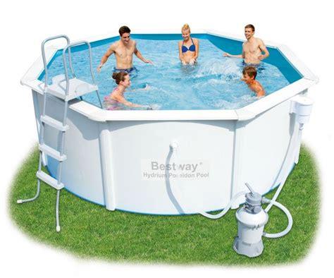 Bestway Hydrium Poseidon Steel Pool Package 12ft X 48
