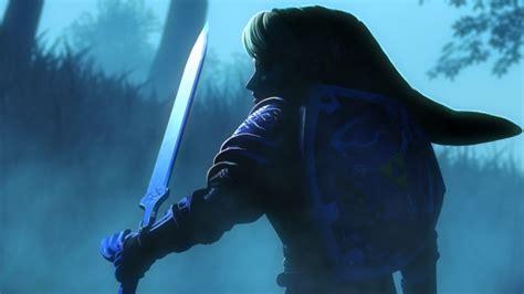 wallpaper  legend  zelda link sword shield