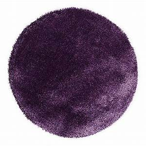 tapis rond violet With tapis rond mauve