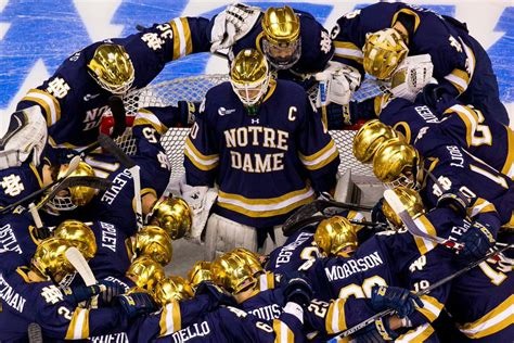 notre dame hockey     irish  denver
