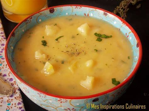 soupe de pommes de terre et poireaux le blog cuisine de