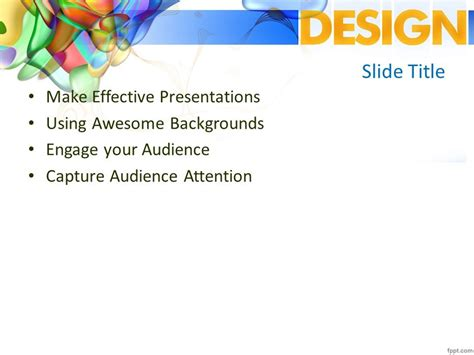 Design PPT Template - Free PowerPoint Templates
