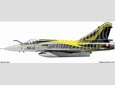 Zoom sur le Mirage 2000 C RDI 103LI Livrée spéciale 11e