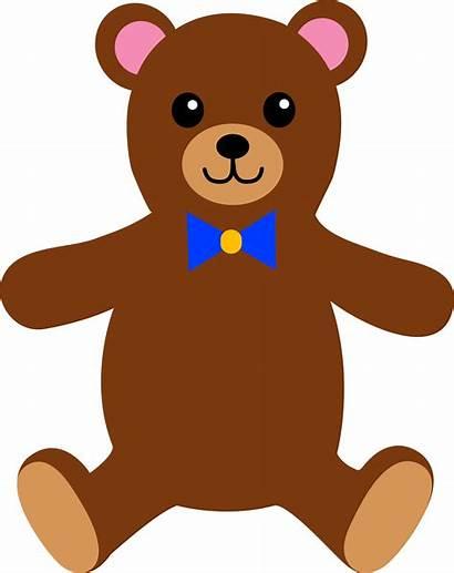 Teddy Bear Clip Clipart Stuffed Clipartion