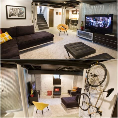 30 Basement Remodeling Ideas+inspiration  Gawe Omah. Best Undermount Stainless Steel Kitchen Sinks. Small Bugs In Kitchen Sink. Kitchen Island With Dishwasher And Sink. Lighting Above Kitchen Sink. Fixing Leak Under Kitchen Sink. Trough Kitchen Sink. Kohler Cast Iron Undermount Kitchen Sink. Kitchen Sinks With Faucets Combos