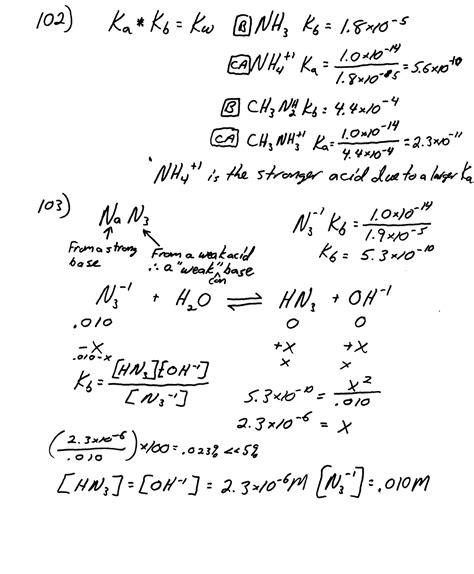 heritage high school ap chemistry homework page 707