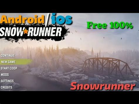 That should allow them to offer not only higher graphics level but also advanced water, mud, ice and snow. How to download snowrunner mobile game in Android free || pc game in mobile full tutorial mobile ...