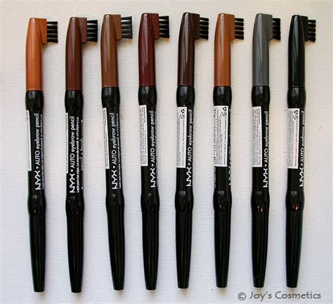 3 nyx auto eyebrow pencil quot your 3 color quot s