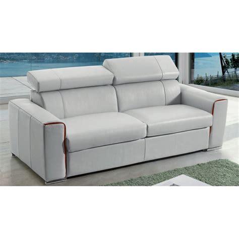 fabricant canapé italien canapé lit rapido en cuir avec matelas 18 cm verysofa renoir