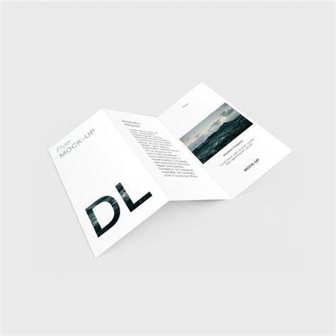 trifold template file trifold template design psd file free download