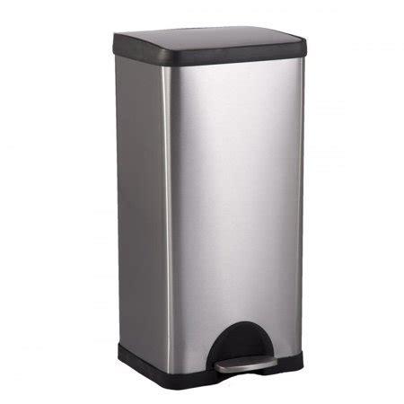 fdw bestoffice  gallon  step stainless steel trash