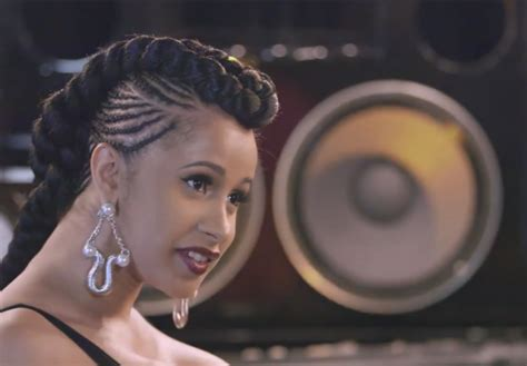 love hip hop star cardi  releases  video