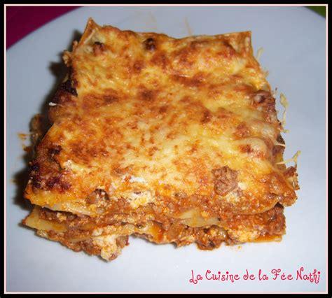 lasagnes bolognaise 224 la b 233 chamel de ricotta recette