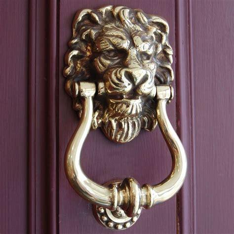 Unique Antique Modern Decorative Door Knockers by Vintage Doors Home Gt Front Door Furniture Gt Aged Brass