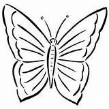 Butterfly Simple Coloring Pages Insects Butterflies Printable Easy Freeprintablecoloringpages Colouring Clipartbest Rainforest Animals Patterns Getcoloringpages sketch template