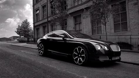 Bentley Wallpaper Black Color Cars #520 Wallpaper