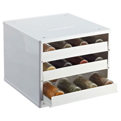 Container Store Spice Racks by Spice Cabinet Youcopia Spicestacks The Container Store