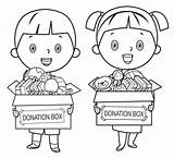 Poor Coloring Starving Books Clipart Child Children Cartoon Illustrations Donate Holding Pencils Toys Poverty Clip Silhouette Petit Grafiken Icon Line sketch template