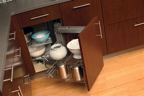 corner cabinet access solutions cardinal kitchens baths storage solutions 101