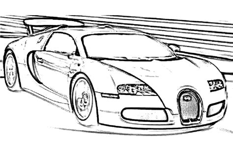 Color in this picture of a bugatti veyron and others with our library of online coloring pages. Kleurplaat Bugatti Chiron Step By Step How To Draw Bugatti Vision Gran Turismo - kleurplatenl.com