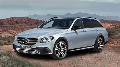 Mercedes Class by Mercedes E Class All Terrain Speculatively Rendered